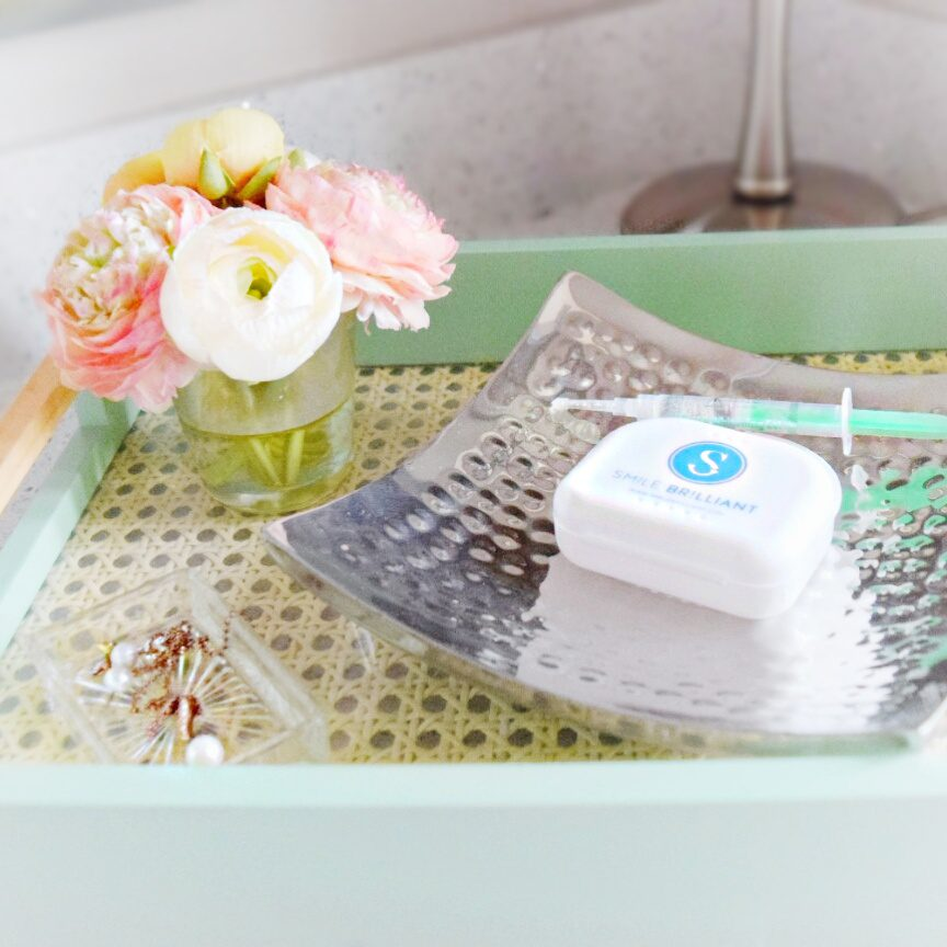 smile brilliant review teeth whitening tray and whitening gel