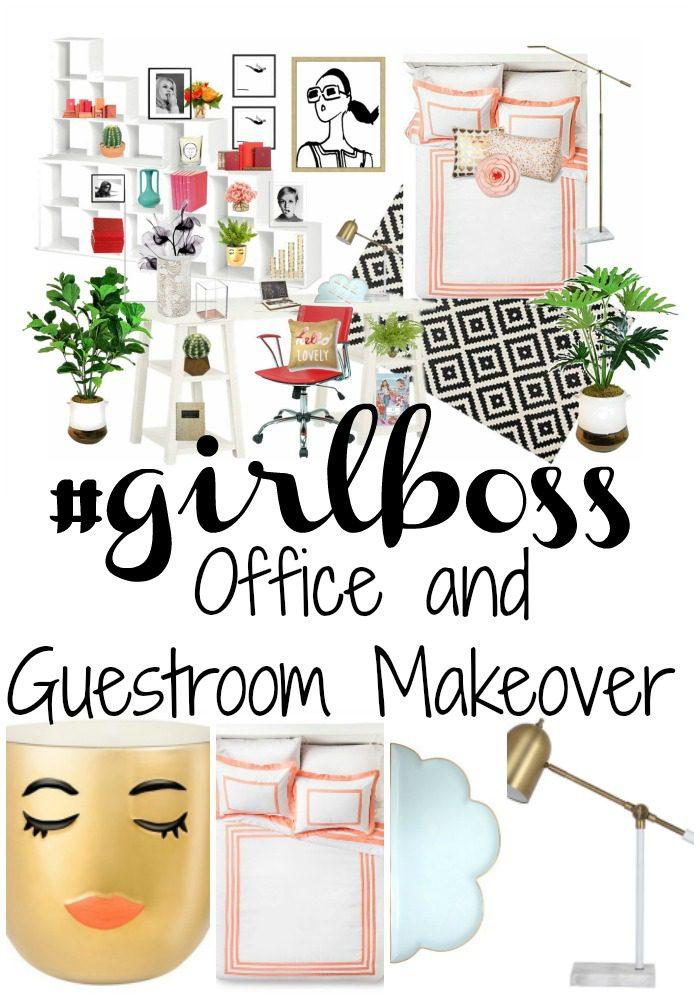 #GirlBoss Office and Guestroom Makeover_Pinterest
