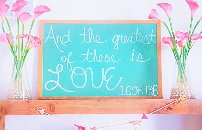 Valentine's Day Decor Chalkboard