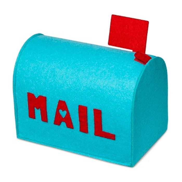 Valentine's Day Blue Felt Mailbox – Spritz_ _ Target