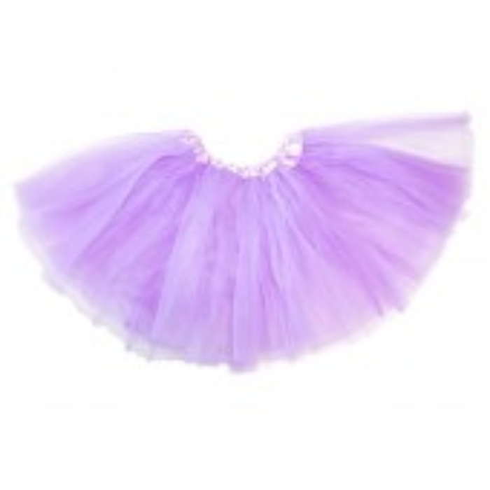 Little Girls Tutu 3-Layer Ballerina Lavender