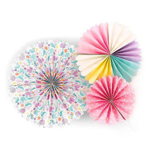 Pastel Paper Fan Spritz