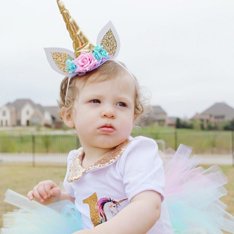 A Pretty Pastel Unicorn First Birthday Party » We're The Joneses