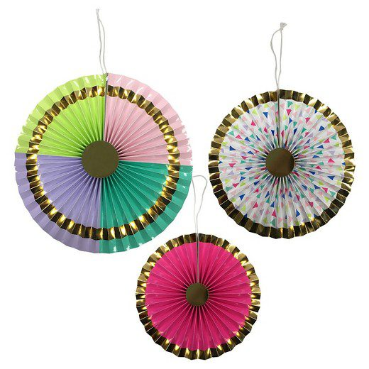 Bright Paper Fan Spritz