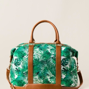 Harper Travel Palm Print Weekender Bag
