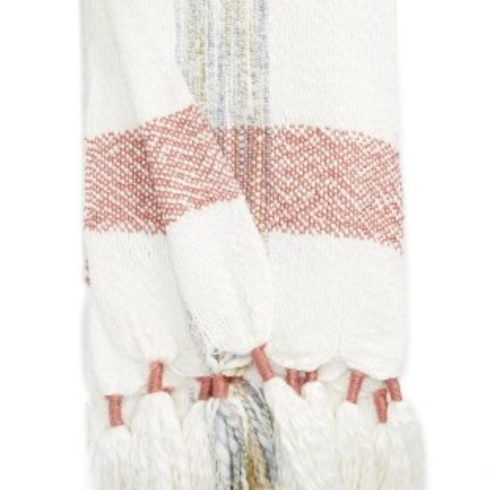 NORDSTROM AT HOME TASSEL THROW