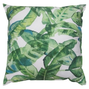 Oversized Banana Leaf Throw Pillow; Threshold