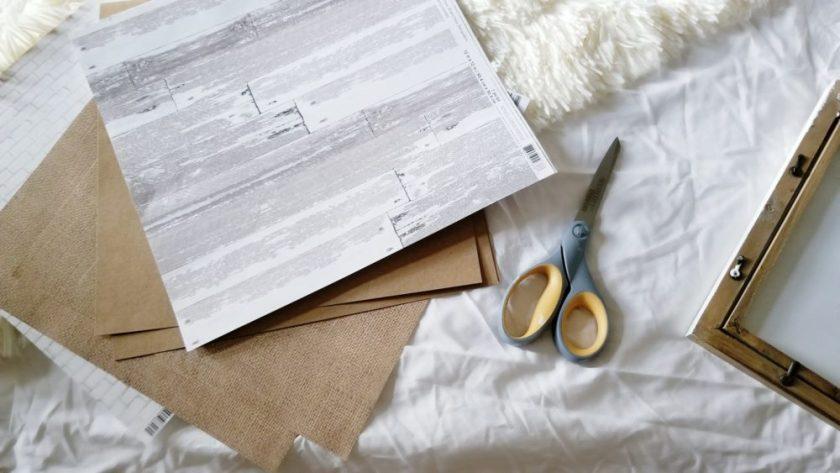 Be Our Guest Wifi Frame DIY Tutorial Guestroom