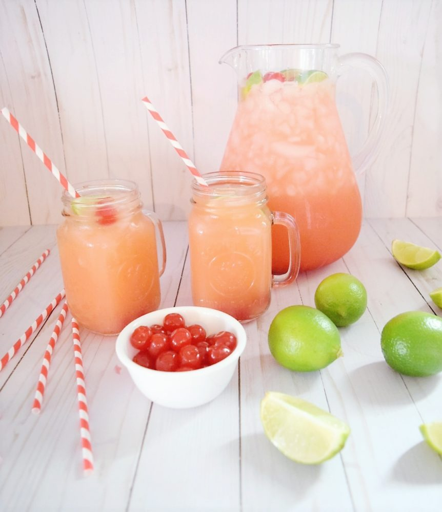 Sonic Sunrise Recipe Simply Orange Cherry Limeade