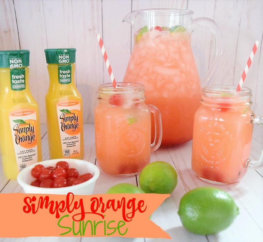 Simply Orange Sunrise Drink Recipe