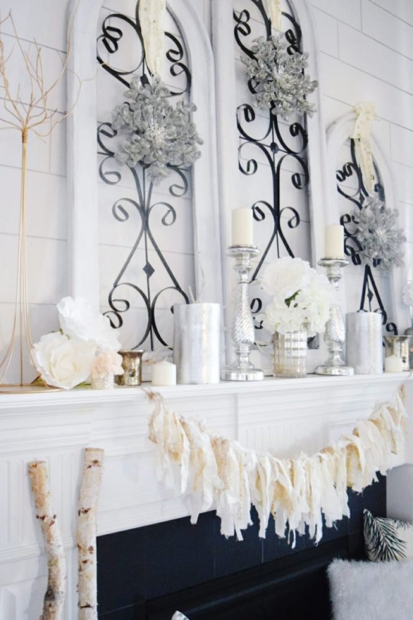 glam winter mantle
