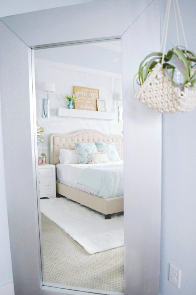 A Beautiful Tropical Romantic Master Bedroom Makeover 187 We