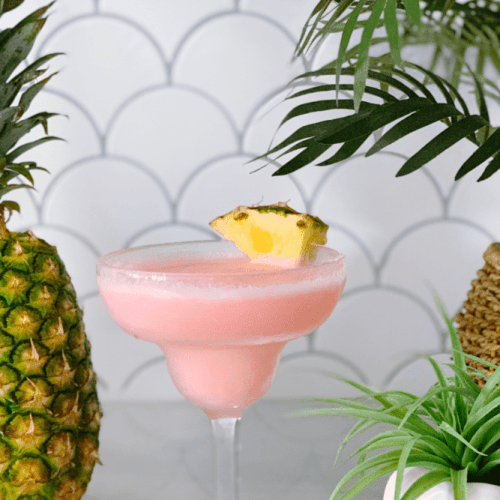 Chi Chi Cocktail Recipe (The BEST Tropical Frozen Beach