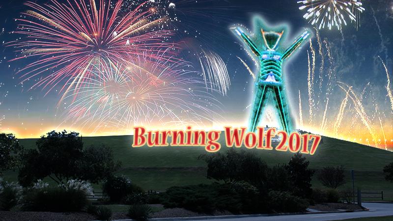 Burning Wolf 2017 - Virginia Beach's Burning Man
