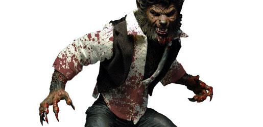 Mezco 12-Inch Wolf Man Figure - Bloody