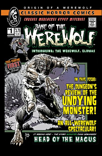 Bane of the Werewolf 1 - cover