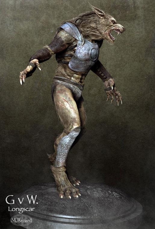 Gladiators V Werewolves - Longscar by Martin Rezard