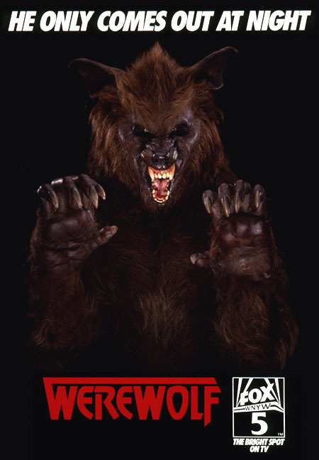 Werewolf TV Series Ad