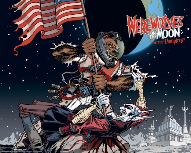 Werewolves on the Moon: Versus Vampires, Issue #1 featured image