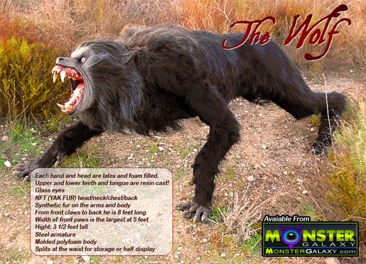 An American Werewolf in London Scale Prop