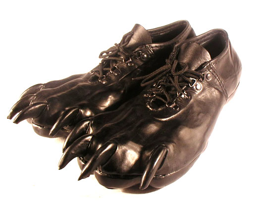 Leather Paw Shoes