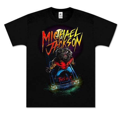 Michael Jackson Thriller Werewolf T-Shirt
