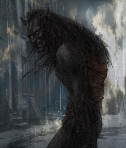 I, Frankenstein Werewolf Concept Art