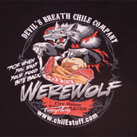 Devil's Breath Werewolf Shirt