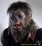 """Life-Size """"The Wolfman"""" Movie Costume display by Tom Spina Designs & Gotham FX featured image"""