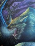 A Double Dose of Deering: Original Werewolf Painting Sale & Anathema #1 For Free featured image