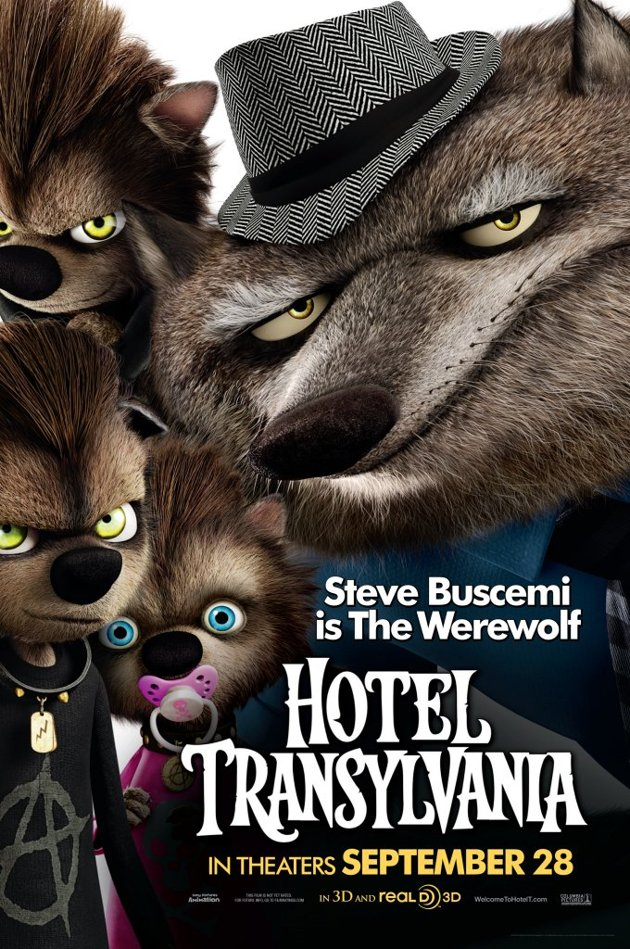 Steve Buscemis Turn As Wayne The Werewolf Is Pretty Much Only Reason Animated Film Hotel Transylvania On My Radar Combined Presences Of