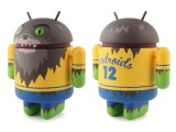 Adorable werewolf-themed Android mascot figurine by Dead Zebra featured image