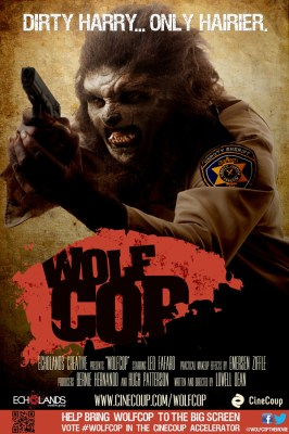 WolfCop CineCoup Poster