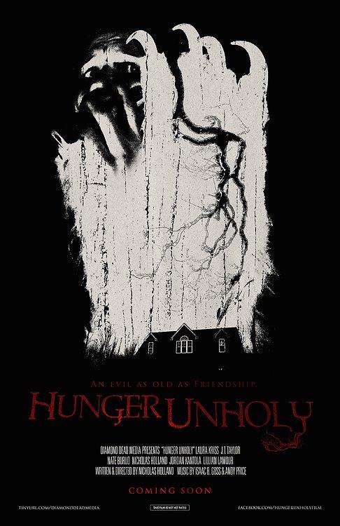 Hunger Unholy poster