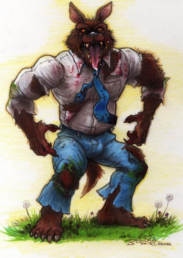 Phraggle - Ghostbusters Werewolf
