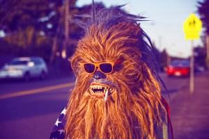 Neon Werewolf Wookiee