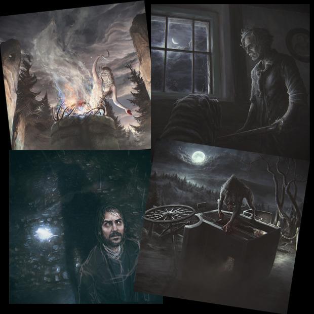 "Paddle Board Rack >> Murder your friends as a secret werewolf in ""Black Forest ..."