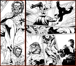 WolfCop Graphic Novel Preview