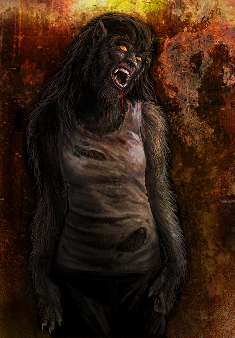Viergacht - Werewolf Wednesday from a while back