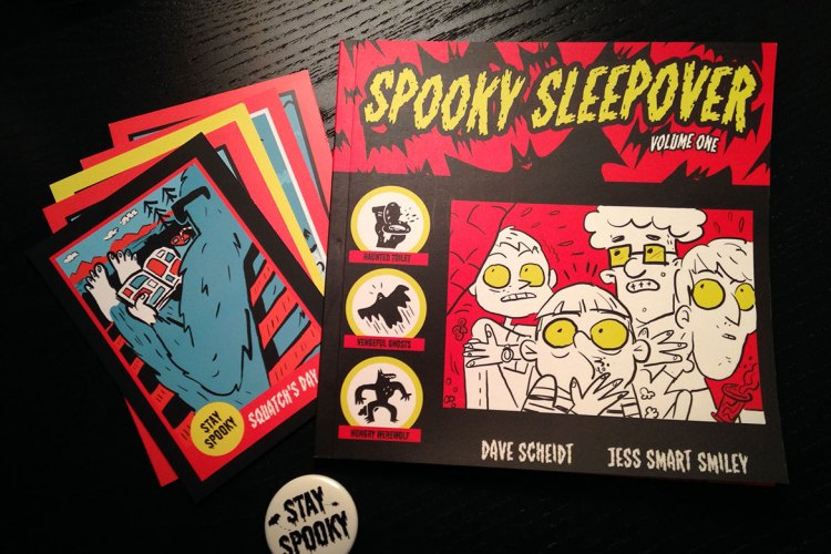 Book Review: Spooky Sleepover Volume One featured image