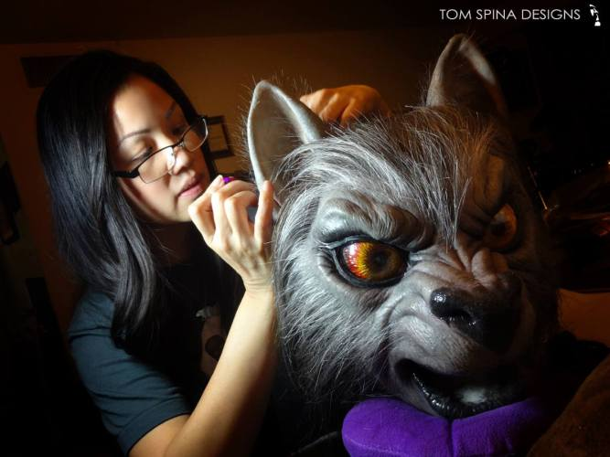 """Tom Spina Designs builds """"An American Werewolf Puppy in London"""" [updated] featured image"""