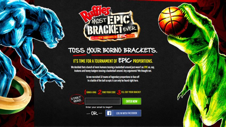 Ruffles epically tries to out-epic the epic basketball thing with werewolves and other epic creatures featured image
