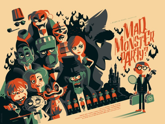 """Tom Whalen's """"Pulp Menagerie"""" show at Mondo Gallery puts the Werewolf at the top of the pile featured image"""