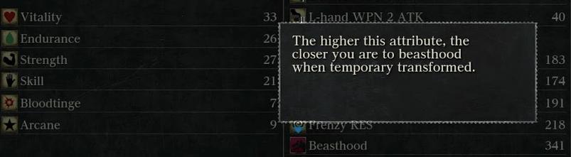 Bloodborne - Beasthood