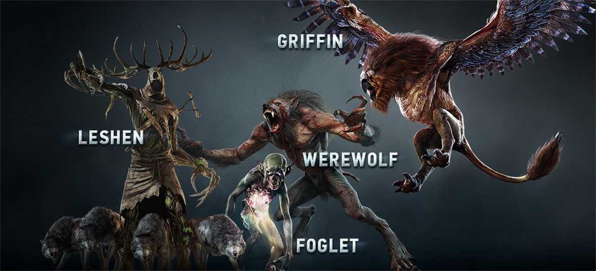 The Witcher 3 Enemies