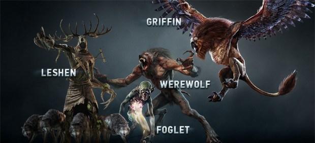The Witcher 3 Enemies