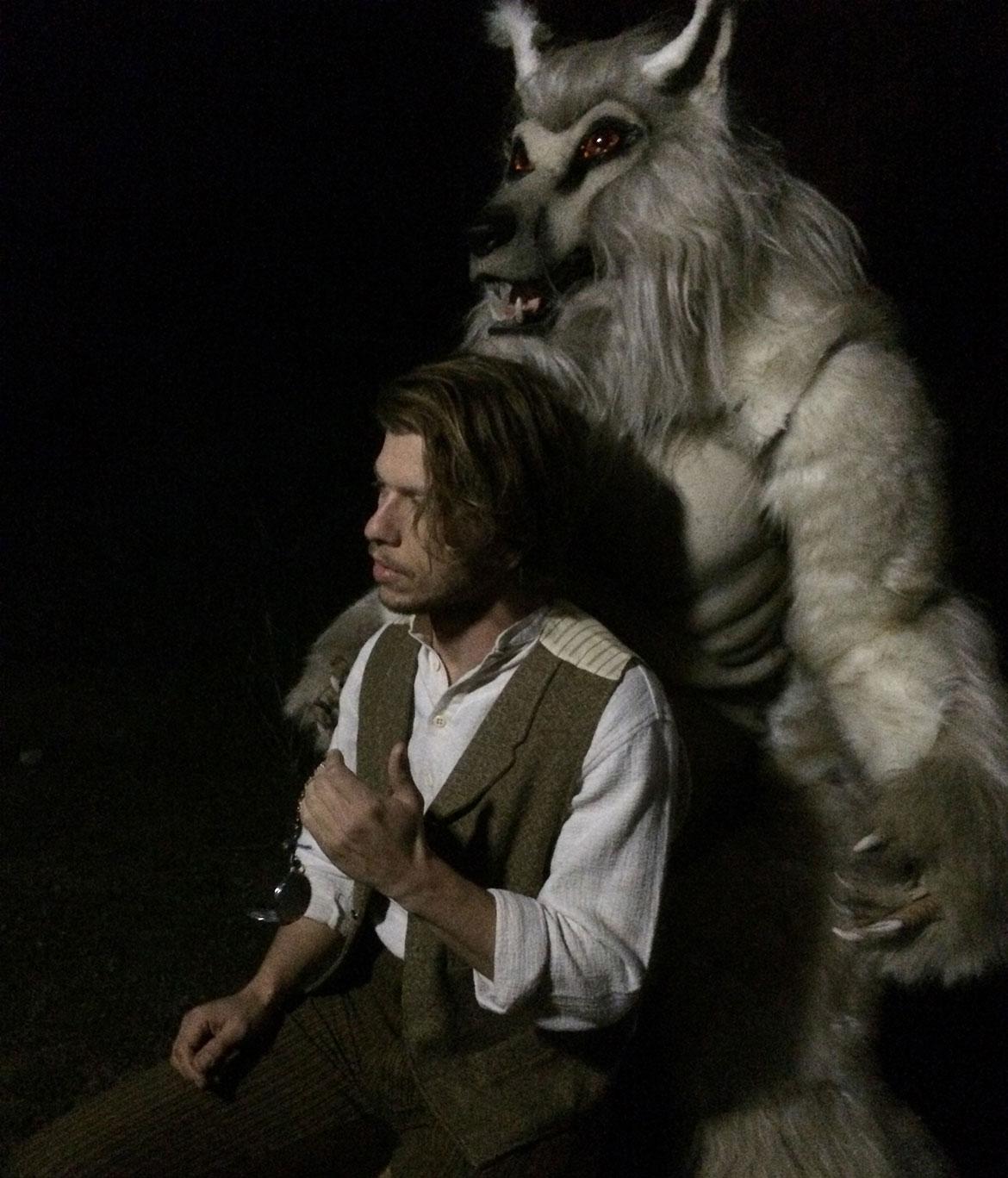 League of STEAM - White Werewolf