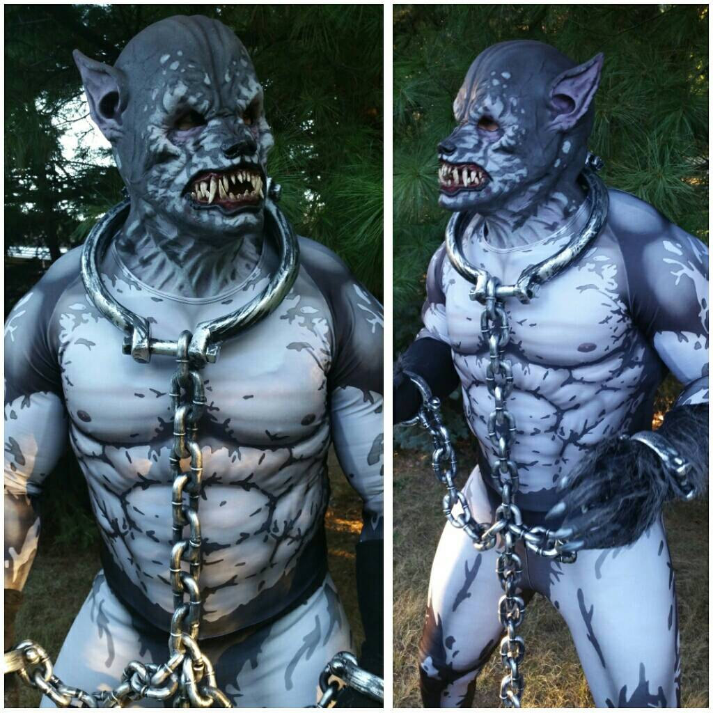 Complete your werewolf costume with a custom-painted bodysuit & Complete your werewolf costume with a custom-painted bodysuit ...