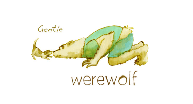 "Bring a funny, dark ""Gentle Werewolf"" to life featured image"