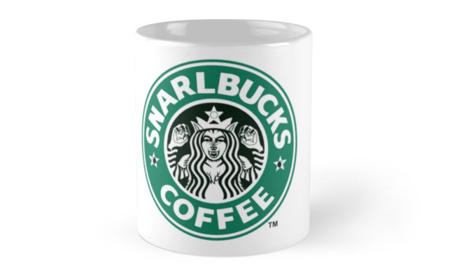 Get this Snarlbucks Coffee mug featured image